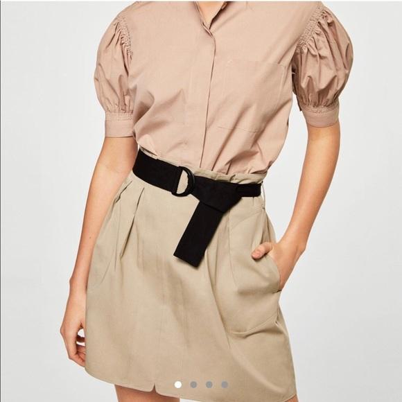 Mango Dresses & Skirts - Mango skirt with black belt
